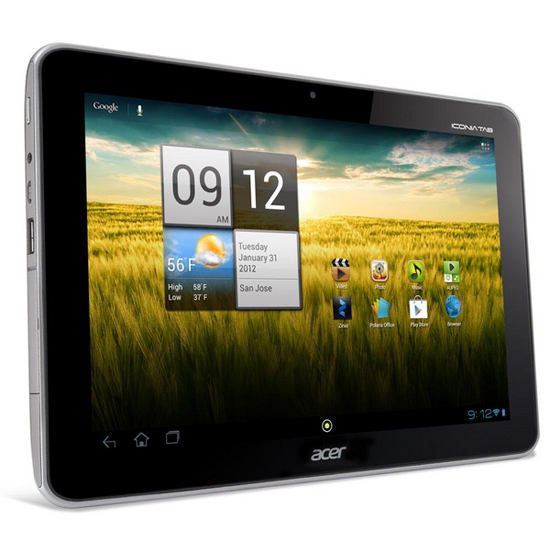 Ремонт планшета Acer Iconia Tab A210/A211